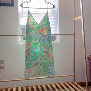 EUC Lilly Pulitzer dusk dress, Sea Salt and Sand